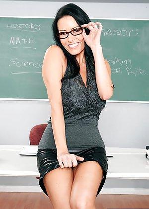 Lesbian teacher and student big tits